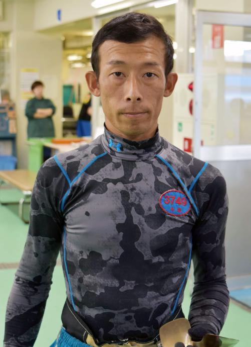 今坂勝広は重量調整に悪戦苦闘/...